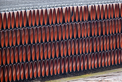 Röhre für die Pipeline  - Sassnitz-Mukran, APA/dpa