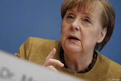 Merkle hält an Pipeline fest  - Berlin, APA/dpa