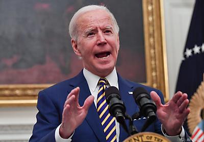 Biden ist gegen die Pipeline - Washington, APA/AFP