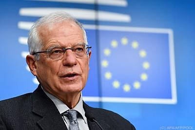 EU-Außenbeauftragter Josep Borrell  - Brussels, APA/AFP/POOL