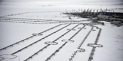 Eine russische Pipeline  - Bovanenkovo, APA/AFP