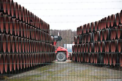 Röhren sollen rasch verbaut werden  - Sassnitz-Mukan, APA/dpa