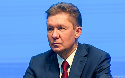 Alexej Miller ist seit 2001 Gazprom-Chef  - Saint Petersburg, APA (AFP)