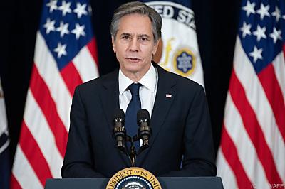Blinken sprach die Forderung aus  - Washington, APA/AFP
