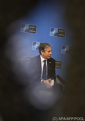 US-Außenminister Antony Blinken  - Brussels, APA/AFP/POOL