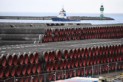 Die Pipeline ist nahezu fertig gebaut  - Sassnitz-Mukan, APA/dpa