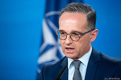 Deutschlands Außenminister Heiko Maas  - Berlin, APA/POOL