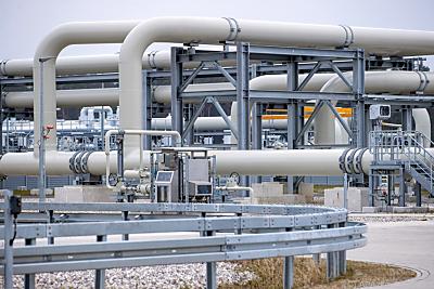 Gasanlandestation von Nord Stream 2 in Deutschland  - Lubmin, APA/dpa-Zentralbild