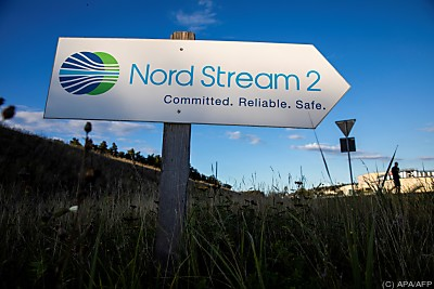 Steiniger Weg zu Nord Stream 2  - Lubmin, APA/AFP