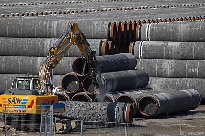 Bald sind alle Röhren verlegt  - Mukran, APA/AFP