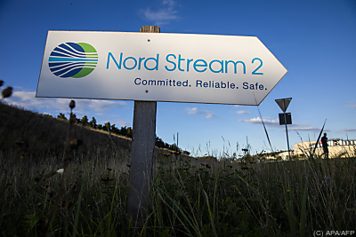 Es geht auch um Nord Stream 2 - Lubmin, APA/AFP