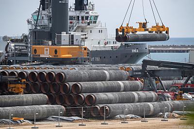 US-Regierung soll Widerstand gegen die Pipeline aufgegeben haben  - Putbus, APA/dpa