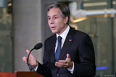 US-Außenminister Antony Blinken  - College Park, APA/POOL