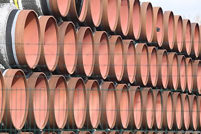 Röhren für die Gaspipeline  - Mukran, APA/dpa