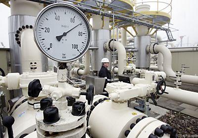 Gasspeicherstände sind niedrig  - Hamburg, APA/dpa