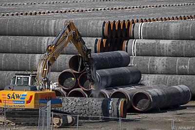 Die Gaspipeline Nord Stream ist laut Betreiberfirma fertiggestellt  - Mukran, APA/AFP