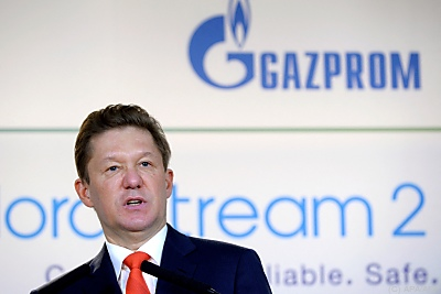 Gazprom-CEO Alexej Miller - Paris, APA/AFP