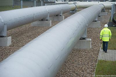 Eine Gaspipeline in Deutschland  - Lubmin, APA/dpa-Zentralbild