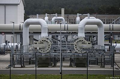 Teil der Gaspipeline Nord Stream 2  - Lubmin, APA/AFP