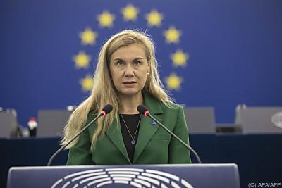 Kadri Simson verweist auf weltweiten Energiehunger  - Strasbourg, APA/AFP