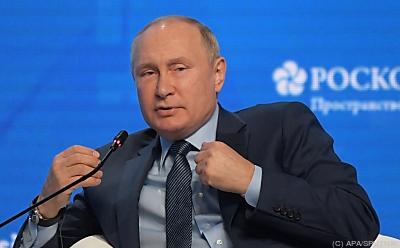 Putin will mehr Gas liefern  - Moscow, APA/SPUTNIK
