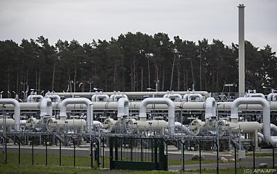Teil der Nord Stream 2  - Lubmin, APA/AFP