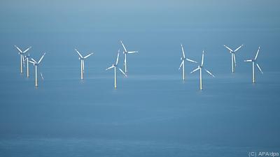 Offshore-Windparks sollen mehr werden  - Nordsee, APA/dpa