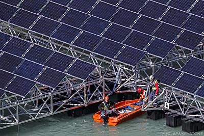 Photovoltaik wird massiv eingesetzt werden  - , APA/KEYSTONE