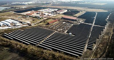 Produktion von jährlich mehr als 12 Gigawattstunden Strom möglich  - Wien, Wien Energie/Johannes Zinner