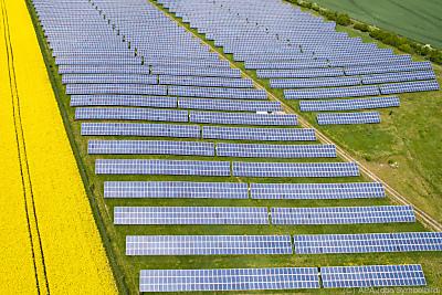Bis Ende 2021 will Enery mindestens 45 Solarparks betreiben  - Polditz, APA (dpa/Symbolbild)
