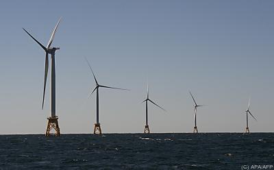 RWE baut Windräder für Offshore-Park - Block Island, APA/AFP