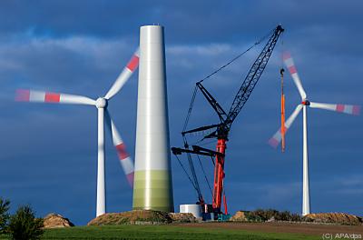 Bau einer Windkraftanlage  - Gressow, APA/dpa