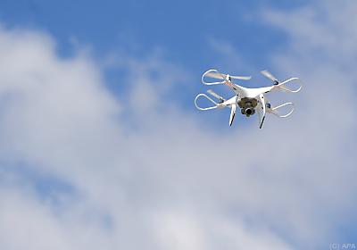Drohnen wurden gestestet  - Burgenland, APA