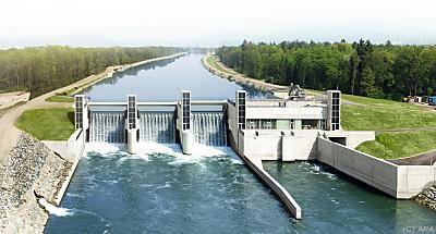 Wasserkraftwerk könnte um weitere 500 GWh ausgebaut werden  - Graz, APA
