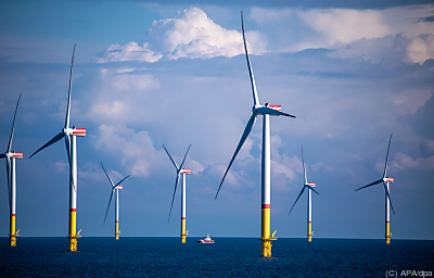 Windpark in der Ostsee  - Mukran, APA/dpa
