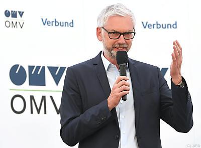 Verbund-Chef Michael Strugl  - Schönkirchen-Reyersdorf, APA