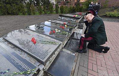 Auch 35 Jahre später ist das Entsetzen über die Katastrophe noch groß  - Kiev, APA/AFP