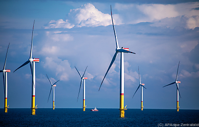 Ein Offshore-Windpark in Deutschland  - Mukran, APA/dpa-Zentralbild