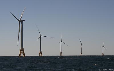 Die Windräder könnten Strom für 1,6 Millionen Haushalte erzeugen - Block Island, APA (AFP)