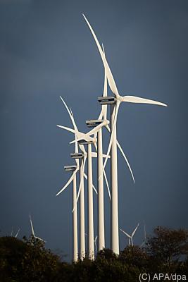 Ein Windpark in Schleswig-Holstein  - Süderlügum, APA/dpa