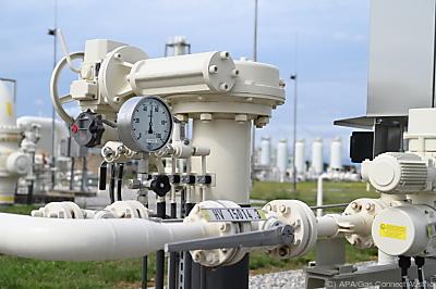 Der Gashub Baumgarten in Niederösterreich  - Wien, APA/Gas Connect Austria