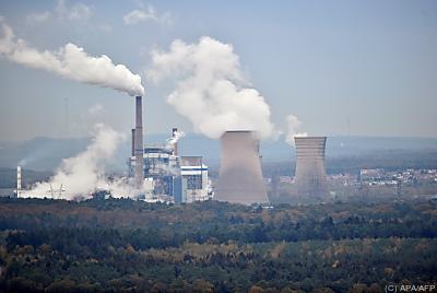 Das Kohlekraftwerk Saint-Avold  - Longeville-lès-Saint-Avold, APA/AFP