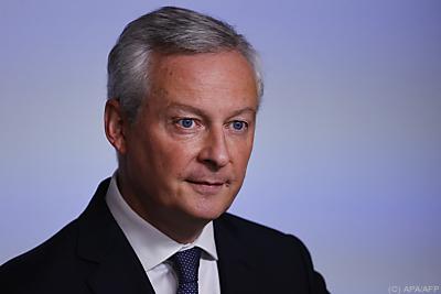 Frankreichs Wirtschaftsminister Bruno Le Maire  - Paris, APA/AFP